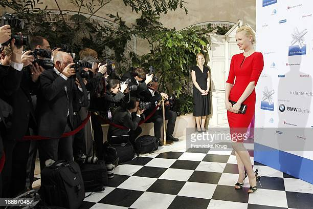 Franziska Knuppe at the 10th Anniversary Of The Felix Burda Award at Hotel Adlon in Berlin