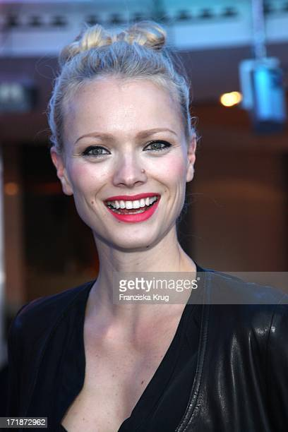 Franziska Knuppe at the Premiere Of Germany BMW 5 Series Gran Turismo in Berlin