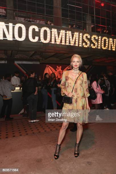 Franziska Knuppe attends Bacardi X The Dean Collection Present No Commission Berlin on June 29 2017 in Berlin Germany