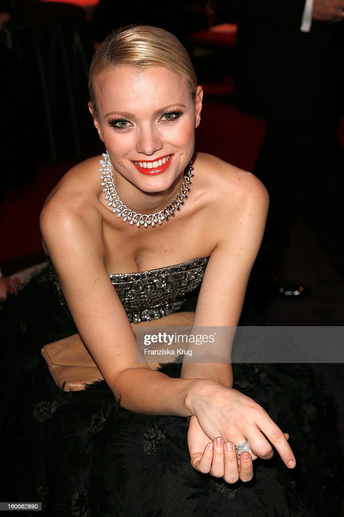 Franziska Knuppe attends 'Goldene Kamera 2013' at Axel Springer Haus on February 2, 2013 in Berlin, Germany.