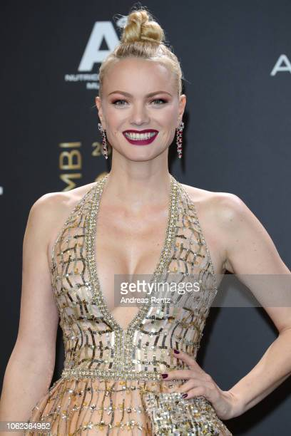 Franziska Knuppe attends the 70th Bambi Awards at Stage Theater on November 16 2018 in Berlin Germany