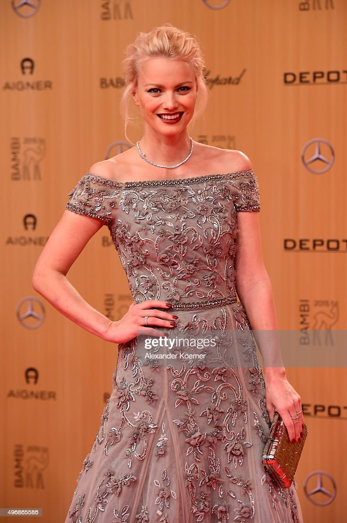 Franziska Knuppe attends the Bambi Awards 2015 at Stage Theater on November 12, 2015 in Berlin, Germany.