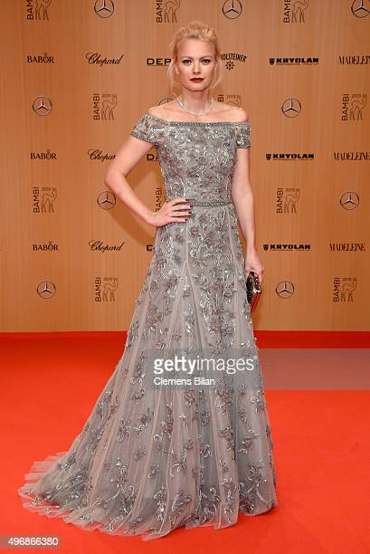 Franziska Knuppe attends the Bambi Awards 2015 at Stage Theater on November 12 2015 in Berlin Germany