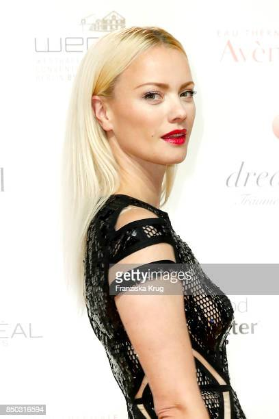 Franziska Knuppe attends the Dreamball 2017 at Westhafen Event Convention Center on September 20 2017 in Berlin Germany