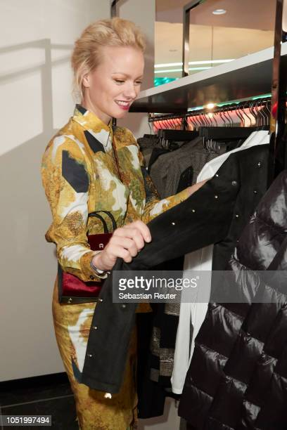 Franziska Knuppe attends the Dustmann store preopening on October 12 2018 in Dortmund Germany