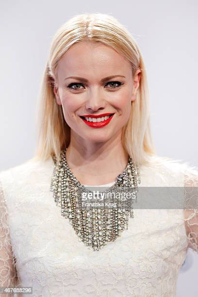 Franziska Knuppe attends the Echo Award 2015 on March 26 2015 in Berlin Germany