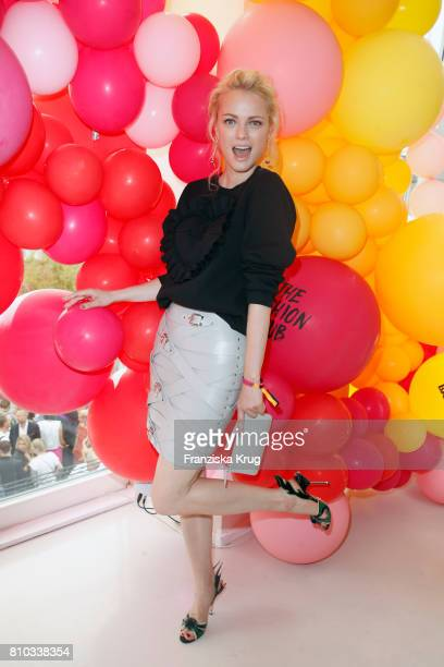 Franziska Knuppe attends the Gala Fashion Brunch during the MercedesBenz Fashion Week Berlin Spring/Summer 2018 at Ellington Hotel on July 7 2017 in...