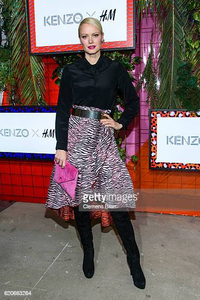 Franziska Knuppe attends the KENZO x HM PreShopping Event on November 2 2016 in Berlin Germany