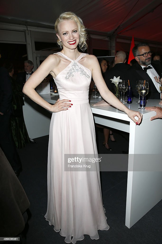 Franziska Knuppe attends the Lola - German Film Award 2014 at Tempodrom on May 09, 2014 in Berlin, Germany.