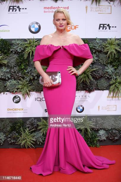 Franziska Knuppe attends the Lola - German Film Award red carpet at Palais am Funkturm on May 03, 2019 in Berlin, Germany.