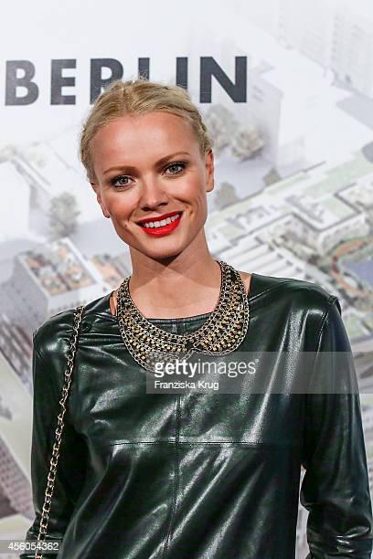 Franziska Knuppe attends the 'LP 12 Mall of Berlin' PreOpening on September 24 2014 in Berlin Germany