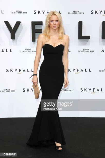 Franziska Knuppe attends the 'Skyfall' Germany Premiere at Theater am Potsdamer Platz on October 30 2012 in Berlin Germany