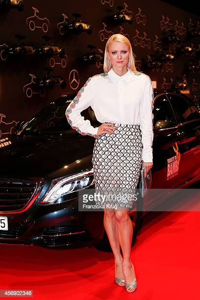 Franziska Knuppe attends the Tribute To Bambi 2014 on September 25 2014 in Berlin Germany