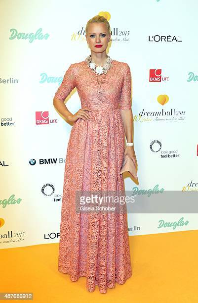Franziska Knuppe during the 10th anniversary of 'Dreamball' at Ritz Carlton on September 10 2015 in Berlin Germany