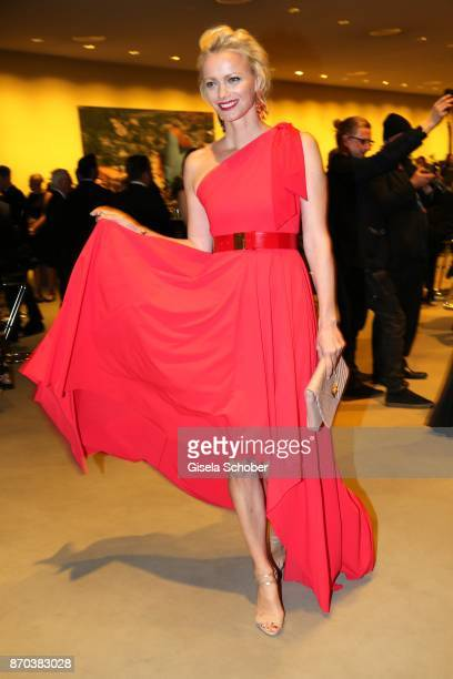 Franziska Knuppe during the 24th Opera Gala benefit to Deutsche AidsStiftung at Deutsche Oper Berlin on November 4 2017 in Berlin Germany
