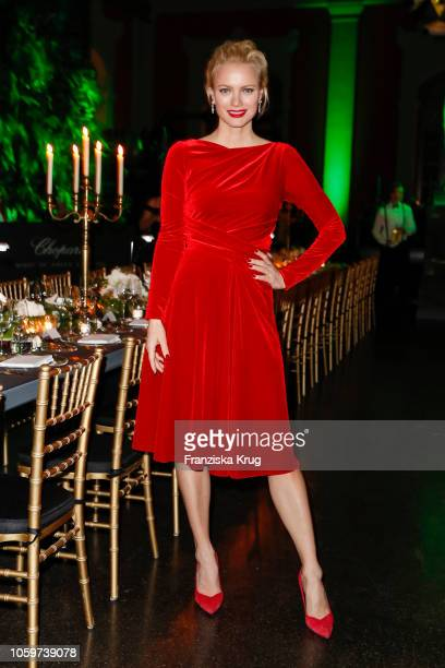 Franziska Knuppe during the Chopard Night of Green Emotions on November 9 2018 in Berlin Germany