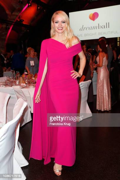 Franziska Knuppe during the Dreamball 2018 at WECC Westhafen Event Convention Center on September 19 2018 in Berlin Germany