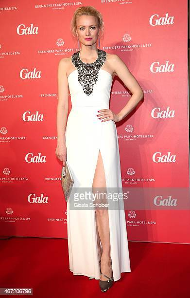 Franziska Knuppe during the Gala Spa Awards 2015 at Brenners ParkHotel Spa on March 21 2015 in BadenBaden Germany