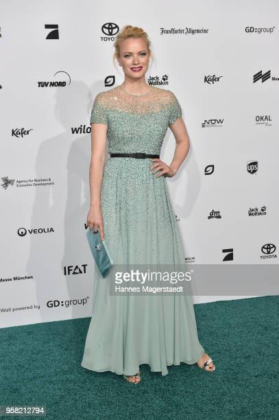 Franziska Knuppe during the GreenTec Awards at ICM Munich on May 13 2018 in Munich Germany