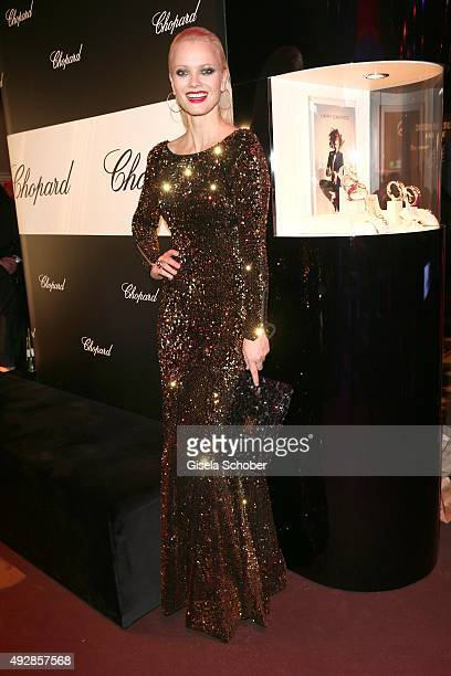 Franziska Knuppe during the Tribute to Bambi 2015 after show party at Station on October 15 2015 in Berlin Germany
