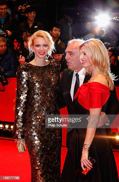 Franziska Knuppe, Hans-Rainer Schröder and wife Kristina attend the Closing Ceremony during day ten of the 62nd Berlin International Film Festival at...