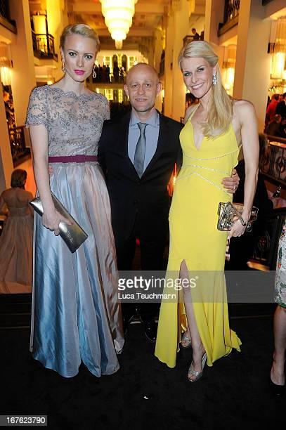 Franziska Knuppe ; Juergen Vogel and Natascha Gruen attend the Lola - German Film Award 2013 - Party at Friedrichstadt-Palast on April 26, 2013 in...