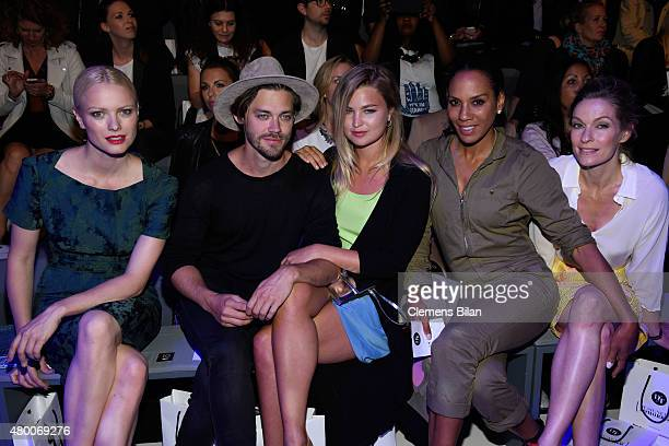 Franziska Knuppe Tom Payne Jennifer Akerman Barbara Becker and Lisa Martinek attend the 'Designer for Tomorrow' by Peek Cloppenburg and Fashion ID...