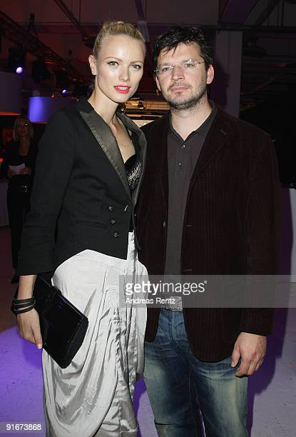 Franziska KnuppeMoestl and her husband Christian Moestl attend the after show party to 'Tribute To Bambi 2009' at The Station on October 9 2009 in...