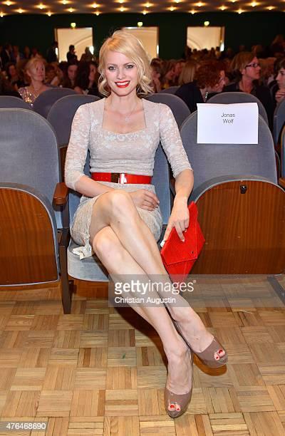 Franziska KnuppeMoestl attends Emotion Award at the Laeiszhalle on June 9 2015 in Hamburg Germany