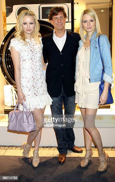 Franziska KnuppeThomas Heinze and Eva Padberg attend the reopening of the Tod's store on March 24 2010 in Munich Germany