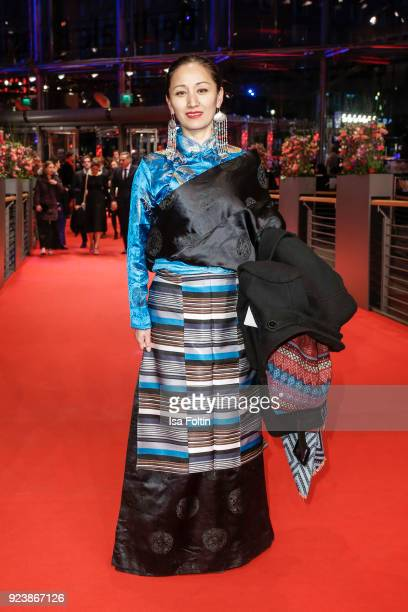 Franziska Petri of Tibet attends the closing ceremony during the 68th Berlinale International Film Festival Berlin at Berlinale Palast on February 24...