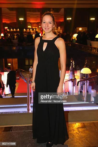 Franziska Preuss attends the Sportler des Jahres 2015 gala at Kurhaus BadenBaden on December 20 2015 in BadenBaden Germany