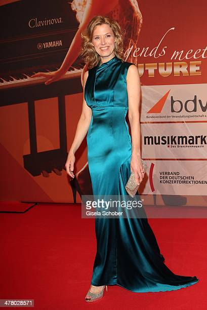 Franziska Reichenbacher attends the LEA Live Entertainment Award 2014 at Festhalle Frankfurt on March 11 2014 in Frankfurt am Main Germany