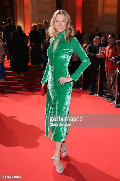 Franziska Reichenbacher during the Hessian Film and Cinema Award at Alte Oper on October 18 2019 in Frankfurt am Main Germany
