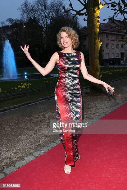 Franziska Reichenbacher during the Spring Ball Frankfurt 2016 on March 5 2016 at Palmengarten in Frankfurt am Main Germany