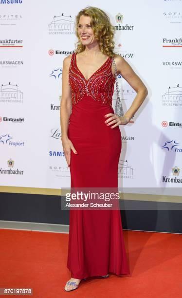 Franziska Reichenbacher is seen during the German Sports Media Ball at Alte Oper on November 4 2017 in Frankfurt am Main Germany