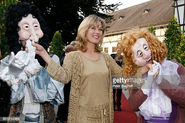 Franziska Reichenbacher kostümierte Statisten BenefizGala 4 SchafhofFestival für UNICEF 2007 Kronberg im Taunus Hessen Deutschland Europa Schafhof...