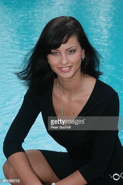 Franziska Schaller Hotel Dunas La Canaria Maspalomas Insel Gran Canaria Kanarische Insel Spanien Europa Pool Model Schönheitskönigin Promi BB DIG PNr...