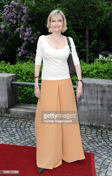 Franziska Schlattner attends the 'Bayerischer Fernsehpreis 2013' at Prinzregententheater on May 17 2013 in Munich Germany