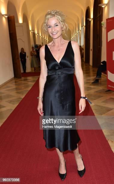 Franziska Schlattner attends the Bernhard Wicki Award 2018 during the Munich Film Festival 2018 at Cuvilles Theatre on July 5 2018 in Munich Germany