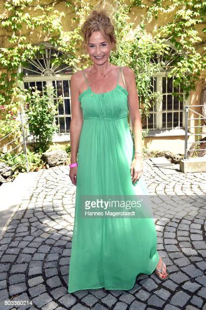 Franziska Schlattner attends the FFF reception during the Munich Film Festival 2017 at Praterinsel on June 29 2017 in Munich Germany