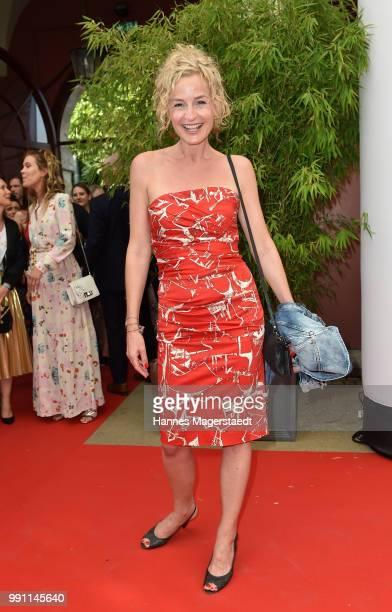 Franziska Schlattner during the Bavaria Film reception during the Munich Film Festival 2018 at Kuenstlerhaus am Lenbachplatz on July 3 2017 in Munich...