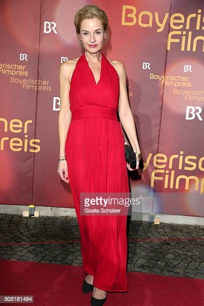 Franziska Schlattner during the Bavarian Film Award 2016 at Prinzregententheater on January 15 2016 in Munich Germany