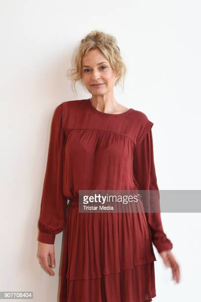 Franziska Schlattner during the BR Film Brunch at Literaturhaus on January 19 2018 in Munich Germany