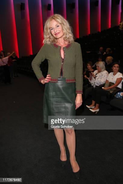 Franziska Schlattner during the premiere of Eine ganz heiße Nummer 20 at Mathaeser Kino on September 30 2019 in Munich Germany