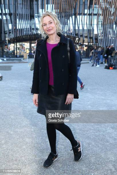 Franziska Schlattner during the premiere of the film Ostwind Aris Ankunft at Equilaland on February 17 2019 in Munich Germany