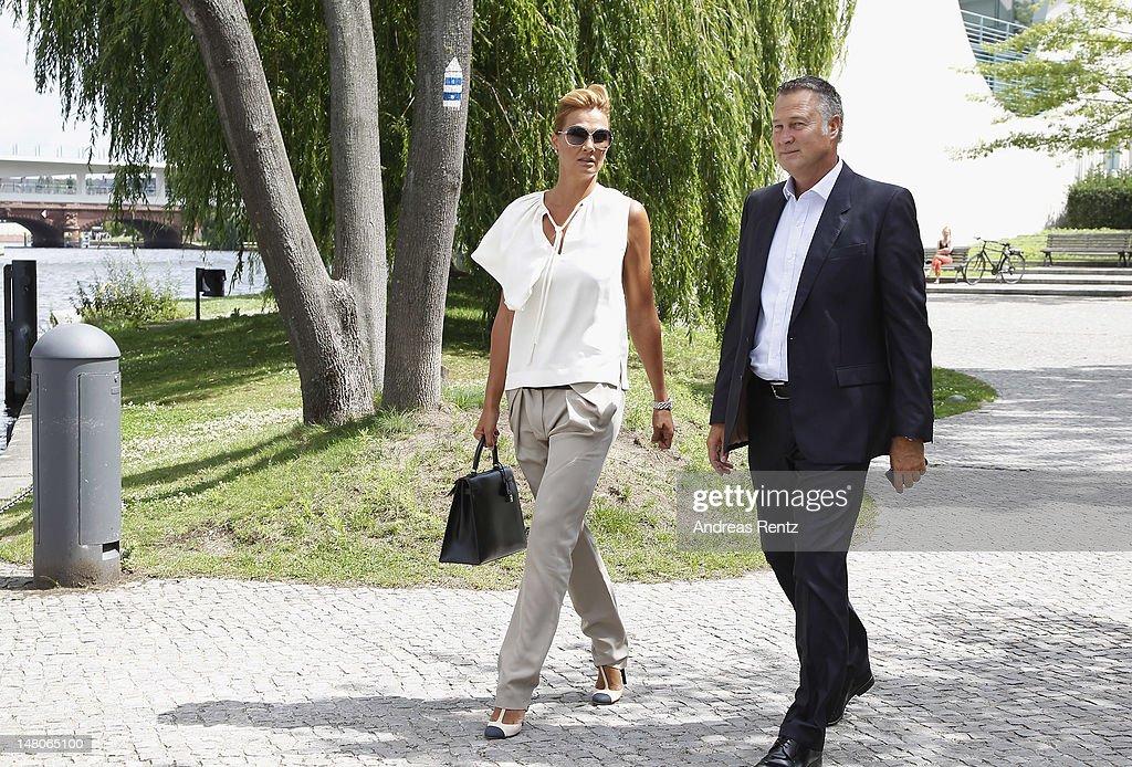 Prince Albert II of Monaco and Princess Charlene Boat Trip