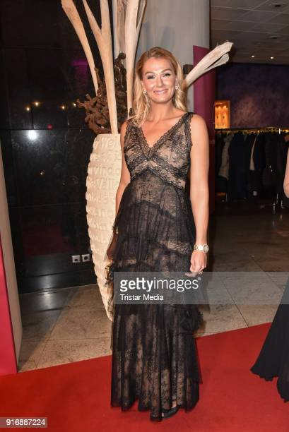 Franziska van Almsick attends the 18th Brandenburg Ball on February 10 2018 in Potsdam Germany