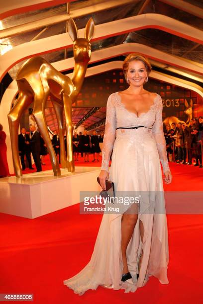 Franziska van Almsick attends the Bambi Awards 2013 at Stage Theater on November 14 2013 in Berlin Germany