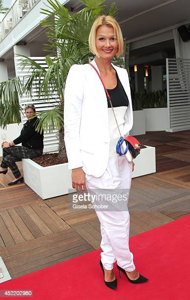 Franziska van Almsick attends the CHIO 2014 media night on July 15 2014 in Aachen Germany